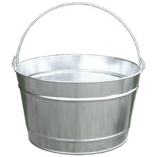 16 Quart Galvanized Steel Pail
