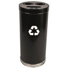 "15"" W Recycling Unit with Three openings"
