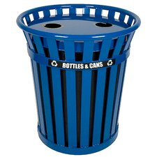 Wydman 36 Gallon Outdoor Recycling Receptacle
