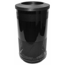 Stadium Series 35 Gallon Perforated Receptacle