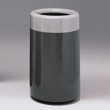 Fiberglass Series 32 Gallon Top Entry Round Receptacle