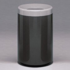 Fiberglass Series 50 Gallon Top Entry Round Receptacle