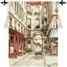 <strong>Fine Art Tapestries</strong> Promenade a Paris I Tapestry
