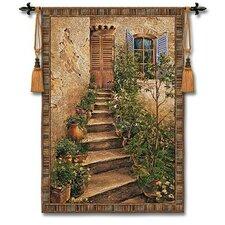Cityscape, Landscape, Seascape Tuscan Villa II Tapestry