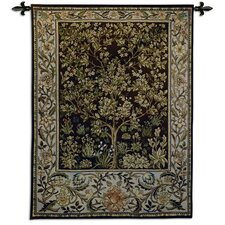 Tree of Life Umber BW Tapestry
