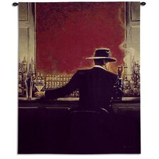Cigar Bar by Brent Lynch Tapestry