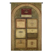 <strong>Fine Art Tapestries</strong> Wine Cellar by Mary Escobedo Tapestry