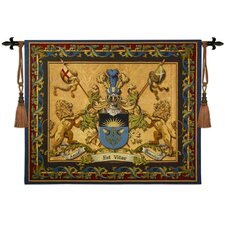 Love Strength Courage Tapestry Wall Hanging