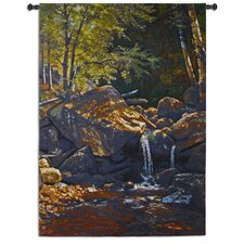 <strong>Fine Art Tapestries</strong> Thompson Cascade by Bierstadt Tapestry