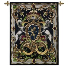 Crest On Black I Tapestry