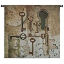 <strong>Fine Art Tapestries</strong> Olde Keys by Sarah Simpson Tapestry
