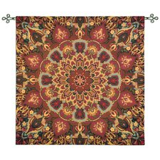 <strong>Fine Art Tapestries</strong> Rangoli Caramel by Julianna James Tapestry