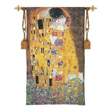 Still Life The Kiss Tapestry