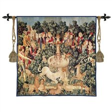 <strong>Fine Art Tapestries</strong> Still Life Unicorn Dips His Horn Wall Hanging