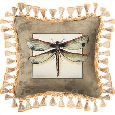 <strong>Fine Art Tapestries</strong> Butterfly Dragonfly I Pillow