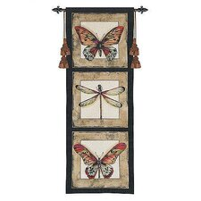 Butterfly Dragonfly I Tapestry