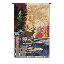 <strong>Fine Art Tapestries</strong> Abstract Ghosts / Tall Timbers by Acorn Studios Tapestry
