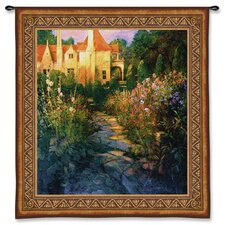 <strong>Fine Art Tapestries</strong> Classical Garden Walk At Sunset by Phillip Craig Tapestry
