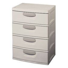 <strong>Sterilite</strong> 4 Drawer Storage