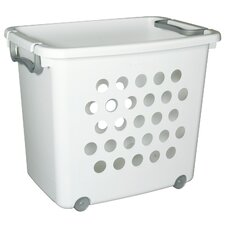 Large Ultra Wheeled Stacking Basket