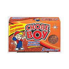 Chore Boy Copper Scrubbers (Pack of 2)