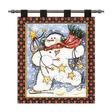 Dancing Snowman Tapestry