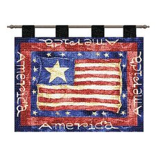 <strong>Pure Country Weavers</strong> Old Glory Tapestry