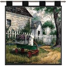 Antique Wagon Tapestry