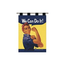 Rosie the Riveter Tapestry