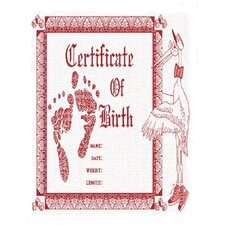 Birth Certificate Tapestry - Pink