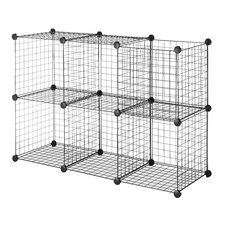 Wire Storage Cube (Set of 6)