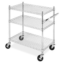 "33"" 3 Tier Commerical Cart"