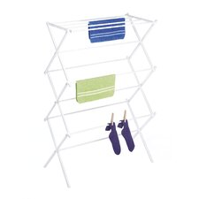 <strong>Whitmor, Inc</strong> Folding Drying Rack in White
