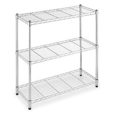 "Supreme Wide 36"" H 3 Shelf Shelving Unit Starter"