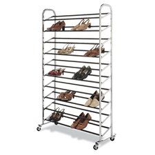<strong>Whitmor, Inc</strong> 50 Pair Shoe Rack