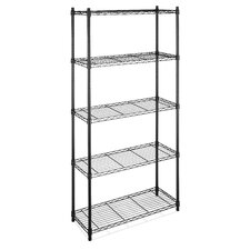 Five Tier Supreme Shelving in Black