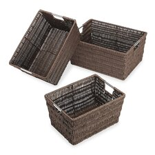 Rattique Storage Basket (Set of 3)
