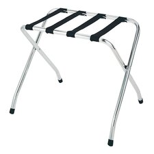 Deluxe Luggage Rack in Chrome