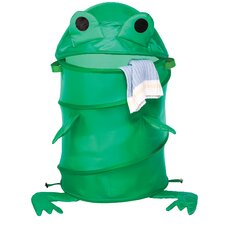 "15"" Frog Collapsible Kids Hamper"