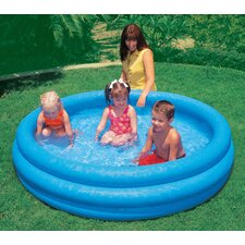"Round 16"" Deep Crystal Blue Pool"