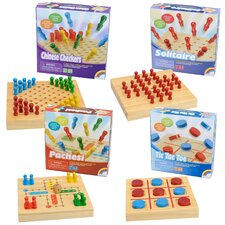 <strong>Intex</strong> Summer Travel Wooden Board Game Set