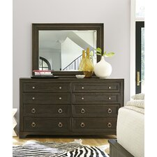 California 8 Drawer Dresser