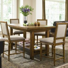 Great Rooms 5 Piece Counter Height Dining Set