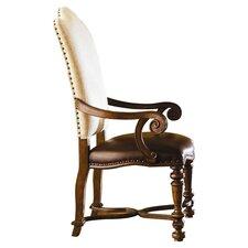 Bolero Upholstered Back Arm Chair (Set of 2)