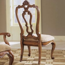 Villa Cortina Carved Back Side Chair