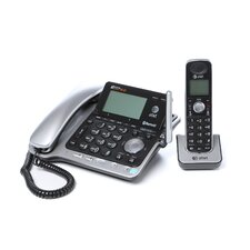 <strong>Advanced American Telephone</strong> Two-Line Dect 6.0 Phone System with Bluetooth