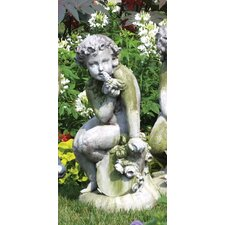 <strong>OrlandiStatuary</strong> Angels Como Cherub and Doll Statue