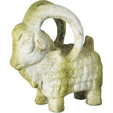 Animals Ram Standing Statue