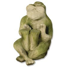Animals Bongo Frog Jazz Statue