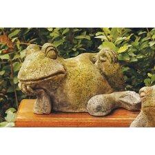 Animals Gossip Frog Statue